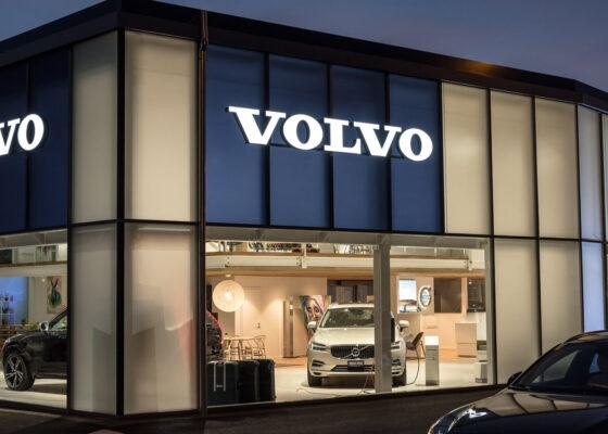 Volvo Aussenbeleuchtung